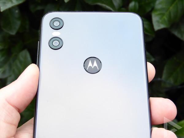 Motorola One vingerafdrukscanner