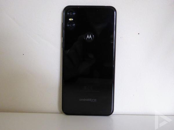 Motorola One achterkant