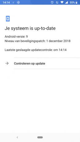 Nokia 6.1 Beveiligingsupdate december 2018