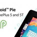 OnePlus 5 en 5T ontvangen vanaf nu Android 9 Pie met OxygenOS 9.0