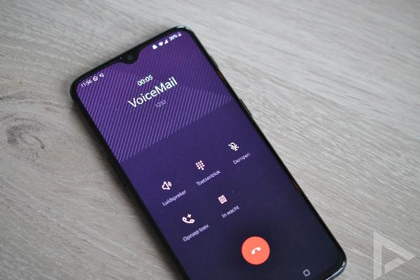 OnePlus 6T dialer