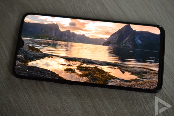 OnePlus 6T scherm