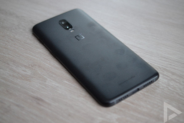 OnePlus 6T achterkant