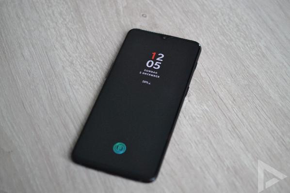 OnePlus 6T vergrendelscherm