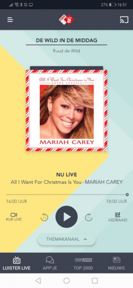 Radio 2 app