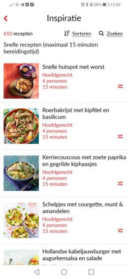 Receptenmaker app
