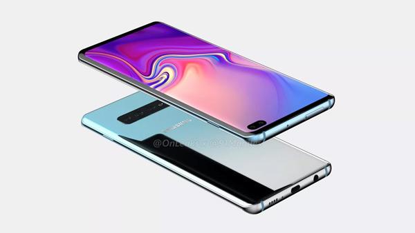 Samsung Galaxy S10+ render 2
