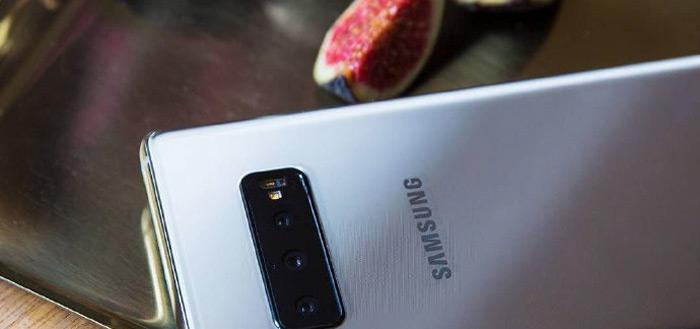 Samsung Galaxy S10+ uitgelekt op live-foto's: triple-camera