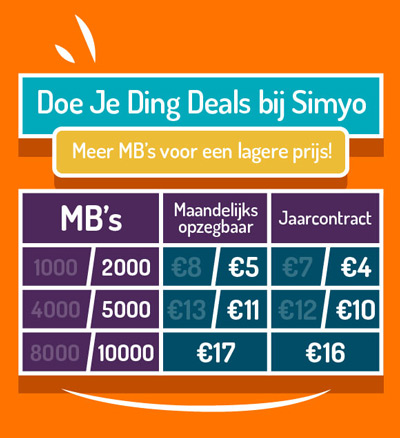 Simyo Doe Je Ding Deals