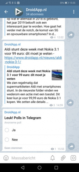Telegram Polls