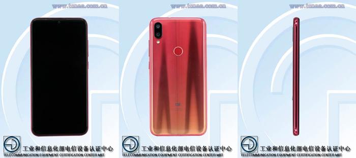 Xiaomi Play Redmi 7 TENAA