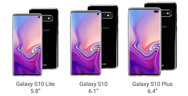 case renders Galaxy S10