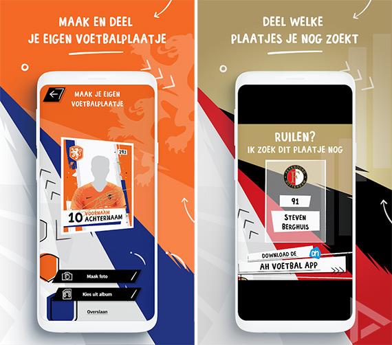 AH Voetbalplaatjes app