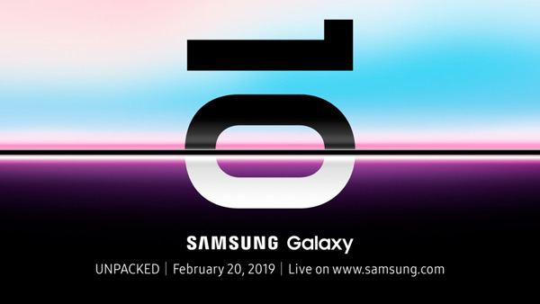 Galaxy S10 20 februari