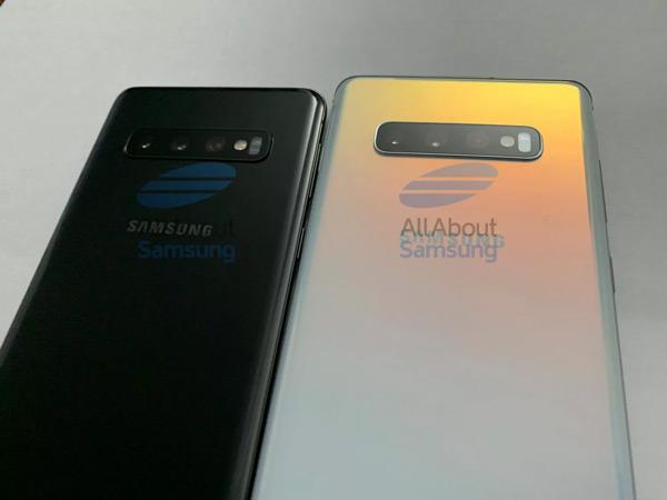 Samsung Galaxy S10 - S10 Plus achterkant