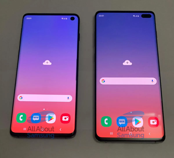 Samsung Galaxy S10 - S10 Plus live