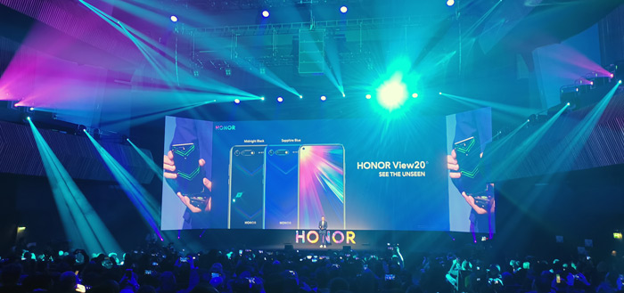 Honor View 20 header Parijs