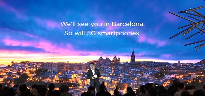 Huawei bevestigt aankondiging eerste vouwbare 5G-smartphone