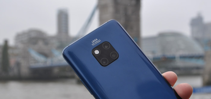 Huawei Mate 20 Pro: januari-patch en camera-verbeteringen in .187 update