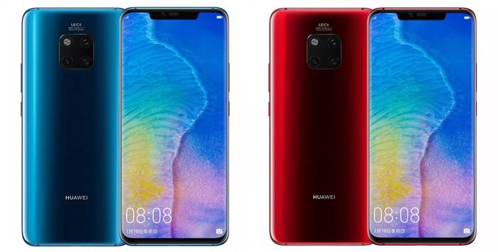Huawei Mate 20 pro nieuwe kleuren