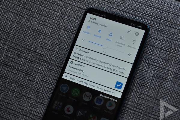Huawei P Smart 2019 notificaties