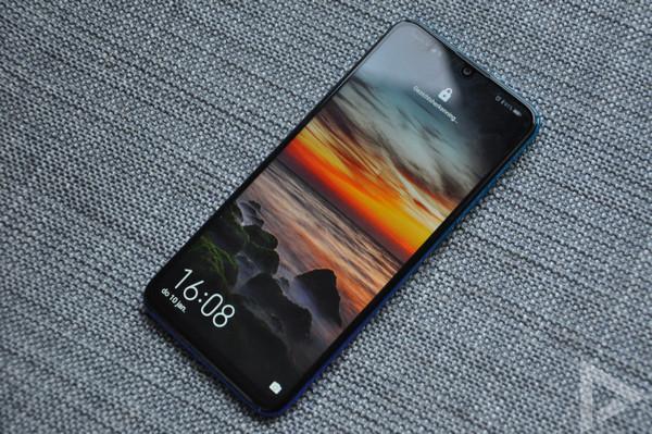 Huawei P Smart 2019 vergrendelscherm