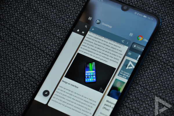Huawei P Smart 2019 multitasking