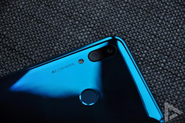 Huawei P Smart 2019 vingerafdrukscanner