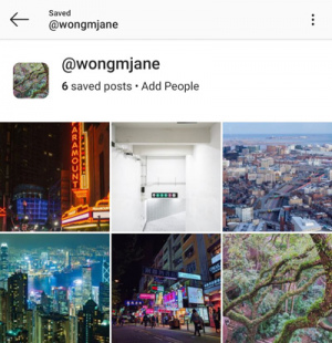 Instagram Collecties delen