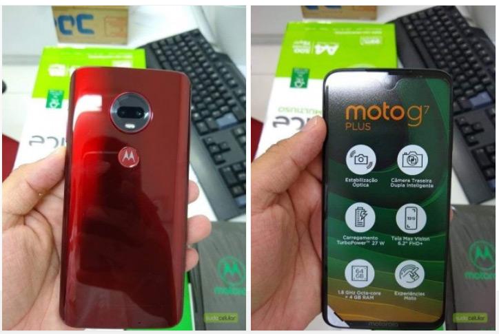Moto G7 Plus leak