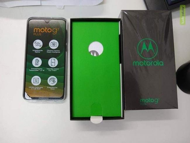 Moto G7 Plus pakket