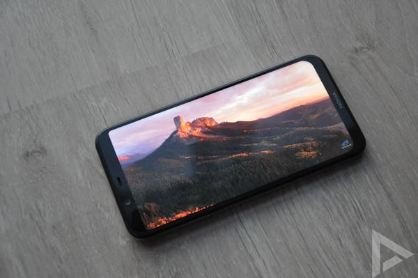 Nokia 8.1 video