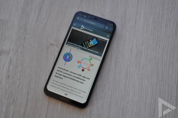 Nokia 8.1 beveiligingsupdate februari 2019