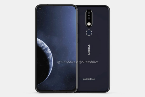 Nokia 8.1 Plus render