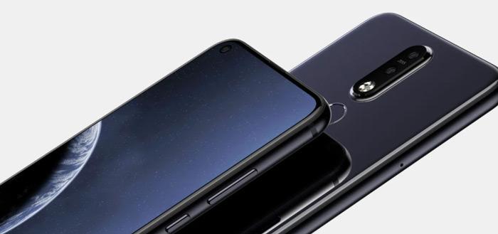 Nokia 8.1 Plus renders online: toestel met opening in scherm