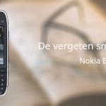 De vergeten smartphone: Nokia E75