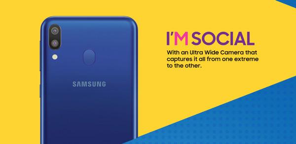 Samsung Galaxy M teaser