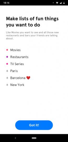 Soon bucketlist app