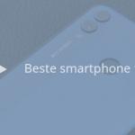 De 11 beste smartphones tot 300 euro (01/2019)