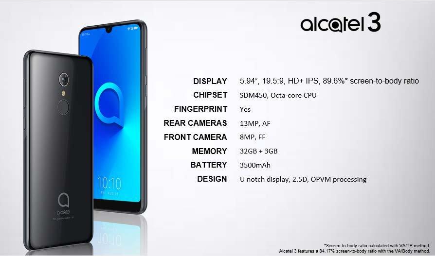 Alcatel 3