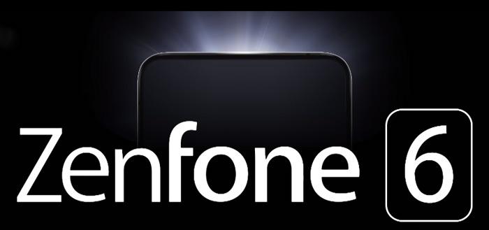 Asus ZenFone 6 teaser laat smartphone zien, zonder notch