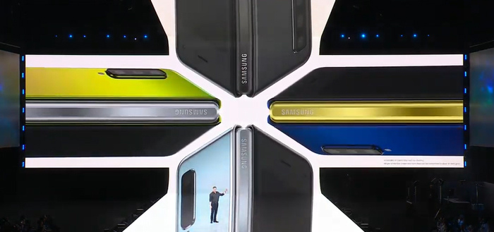 Vouwbare Samsung Galaxy Fold aangekondigd met 6 camera's (alle details)