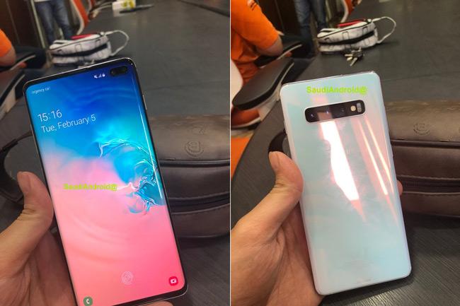 Samsung Galaxy S10+ live
