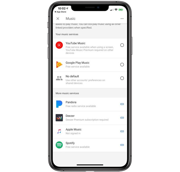 Google Home Apple Music iOS