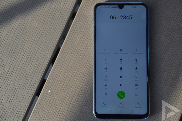 Honor 10 Lite dialer