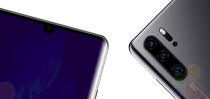 Betrouwbare bron deelt renders van Huawei P30 en P30 Pro, krijgt 10x zoom