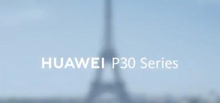 Vingerafdrukscanner Huawei P30 Pro te zien in video; live-foto van P30