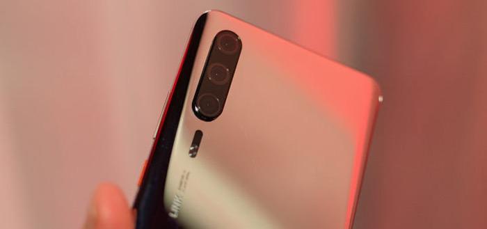 'Live foto's van nieuwe Huawei P30 opgedoken'