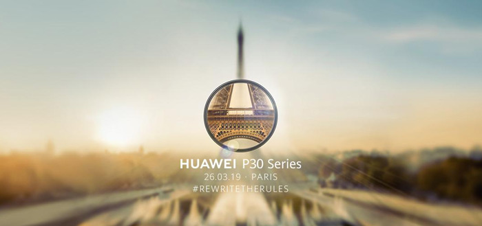 Video-teaser: Huawei presenteert P30-serie op 26 maart