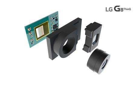 LG G8 ToF camera